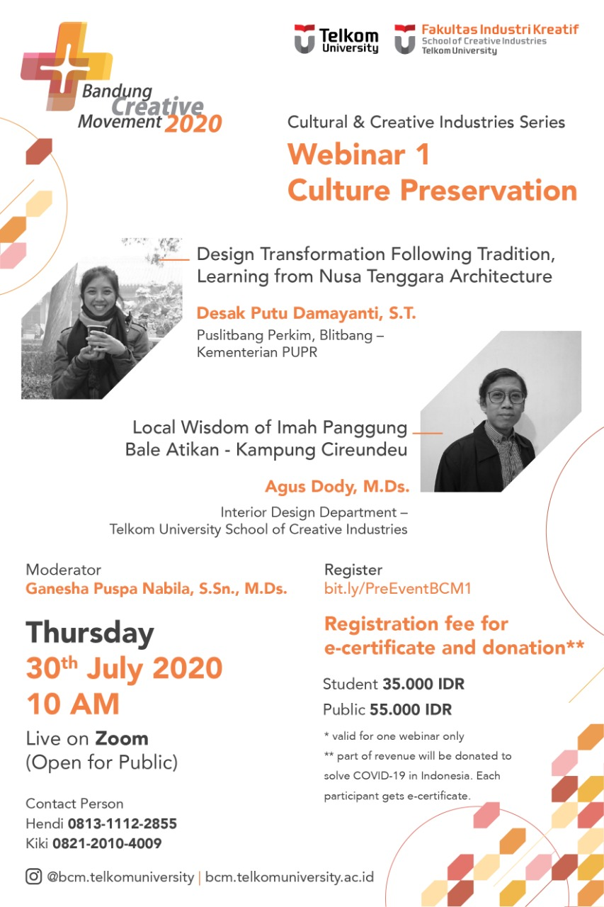 Webinar Pre Event BCM_ Culture Preservation